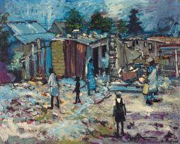 Ephraim Ngatane; Pimville Slums