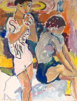 Irma Stern; Two Figures