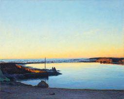 Walter Meyer; Tidal Pool, Camps Bay