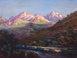 Hugo Naudé; Hex River Mountains in Winter