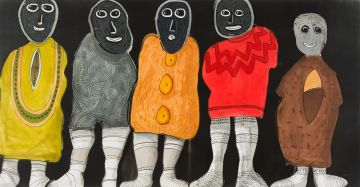 Colbert Mashile; Five Figures