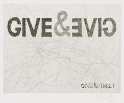 William Kentridge; Give & Take I