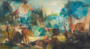 Paul du Toit; Abstract Landscape