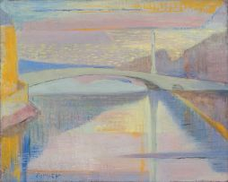 Maud Sumner; Pont de la Tournelle, Paris (Tournelle Bridge)