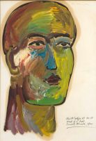 Christo Coetzee; Head of a Poet