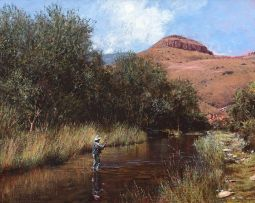 John Meyer; Trying above the Dam