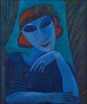 Jan Vermeiren; Portrait of a Woman