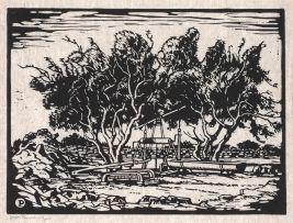 Jacob Hendrik Pierneef; Waterpomp, Amatoko, SWA (Nilant 108)