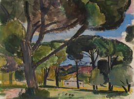 Alfred Krenz; Cape Landscape