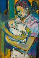 Ephraim Ngatane; Mother and Child