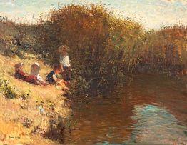 Adriaan Boshoff; Children by the River