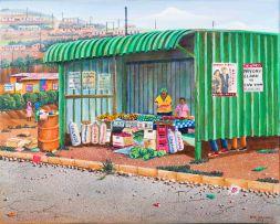 Siyabonga Sikosana; Fruit Sellers
