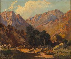 Tinus de Jongh; Cederberg Landscape