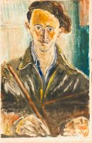 Lippy (Israel-Isaac) Lipshitz; Self-portrait