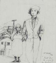 Moleleki Frank Ledimo; Aunt Dora as a Girl and her Missus