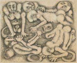 Billy (Joshua) Molokeng; Entwined Figures