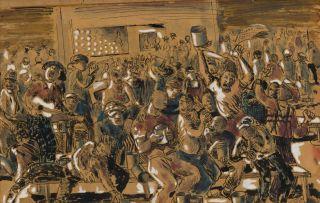 Louis Maqhubela; At the Beerhall