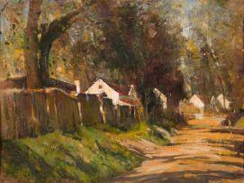 Errol Boyley; Cape Village Scene