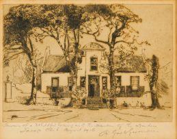 Robert Gwelo Goodman; Cape Dutch House
