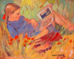 Johan Engela; Girl Reading