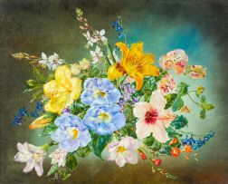Cecil Kennedy; Mixed Flowers, Uvongo