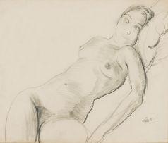 Sir Jacob Epstein KBE; Reclining Nude