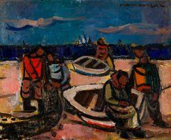 Maurice van Essche; Fishermen