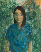 Marjorie Wallace; Portrait of a Girl