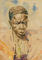 Unknown; Portrait of a Sangoma