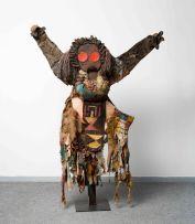 Lucky Sibiya; Standing Figure