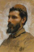 Arnaldo Ferraguti; Portrait of a Man
