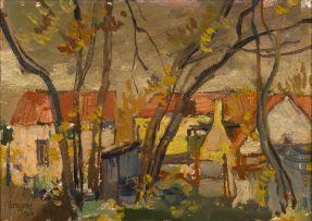 Gregoire Boonzaier; Farm Houses