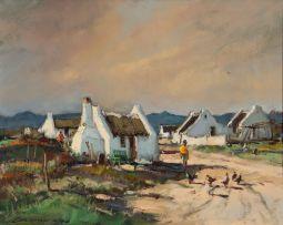 Christiaan Nice; Village Scene