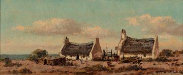 Otto Klar; Fishermen's Cottages