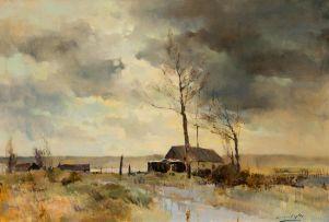Errol Boyley; Winter Landscape