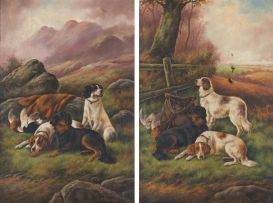 Robert Cleminson; Bird Dogs; After the Hunt, two