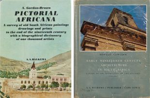 A Gordon-Brown; Ronald Lewcock; Pictorial Africana; Early Nineteenth Century Architecture in South Africa, two