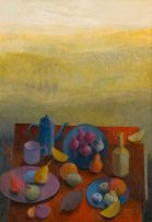 Susan Helm Davies; Laden Table