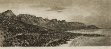 Tinus de Jongh; Clifton on Sea, Camps Bay, Cape