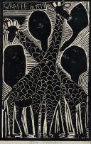 John Muafangejo; Giraffe in 1979