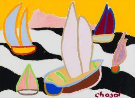 Malcolm de Chazal; Sail Boats
