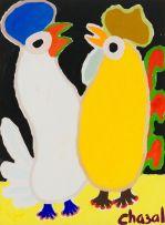 Malcolm de Chazal; Two Chickens