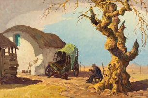 Nils Andersen; Farm Yard