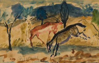 Reginald Turvey; Three Antelope