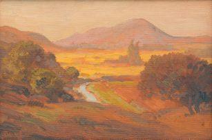 Jacob Hendrik Pierneef; Meintjieskop, Pretoria, Aand