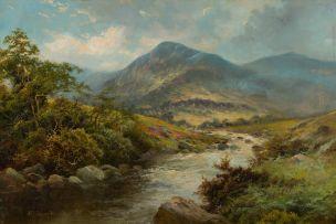 Alfred de Breanski Jnr; Highland Scene