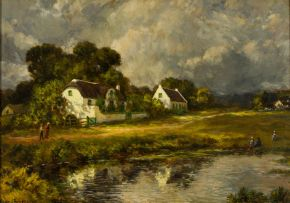 Edward Roworth; Thunder Weather, Knysna, C. P.