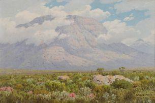 Jan Ernst Abraham Volschenk; Sunshine on Cloud and Mountain