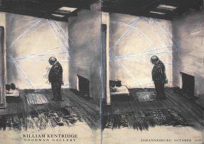 William Kentridge; William Kentridge, Goodman Gallery, Johannesburg, October 1999, exhibition poster