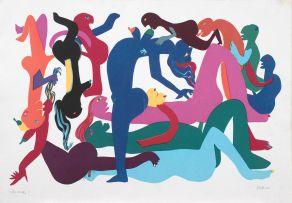 Walter Battiss; Orgy 3
